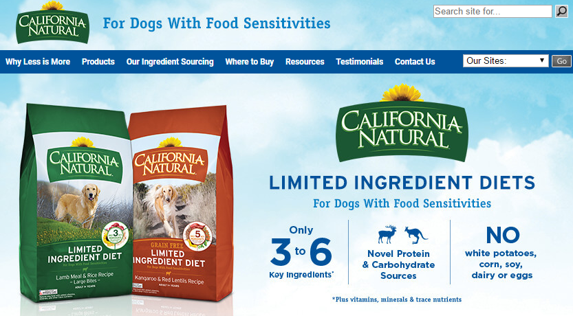 California Natural Canned Dog Food Reviews